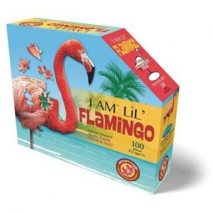 Madd Capp Puzzles - I am Lil' Flamingo - Puzzle flaming 100 el