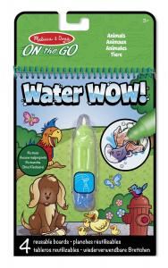 Melissa and Doug - water WOW zwierzęta