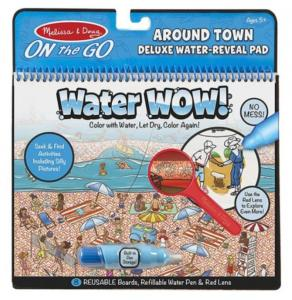 Melissa and Doug water WOW zabawa w chowanego z lupą