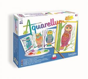 Akwarele junior sowy