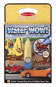 Melissa and Doug - water WOW  pojazdy