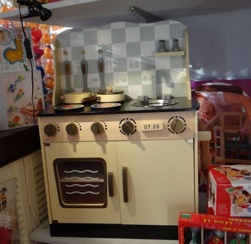 Kuchnia Drewniana Mały Master Chef Vintage