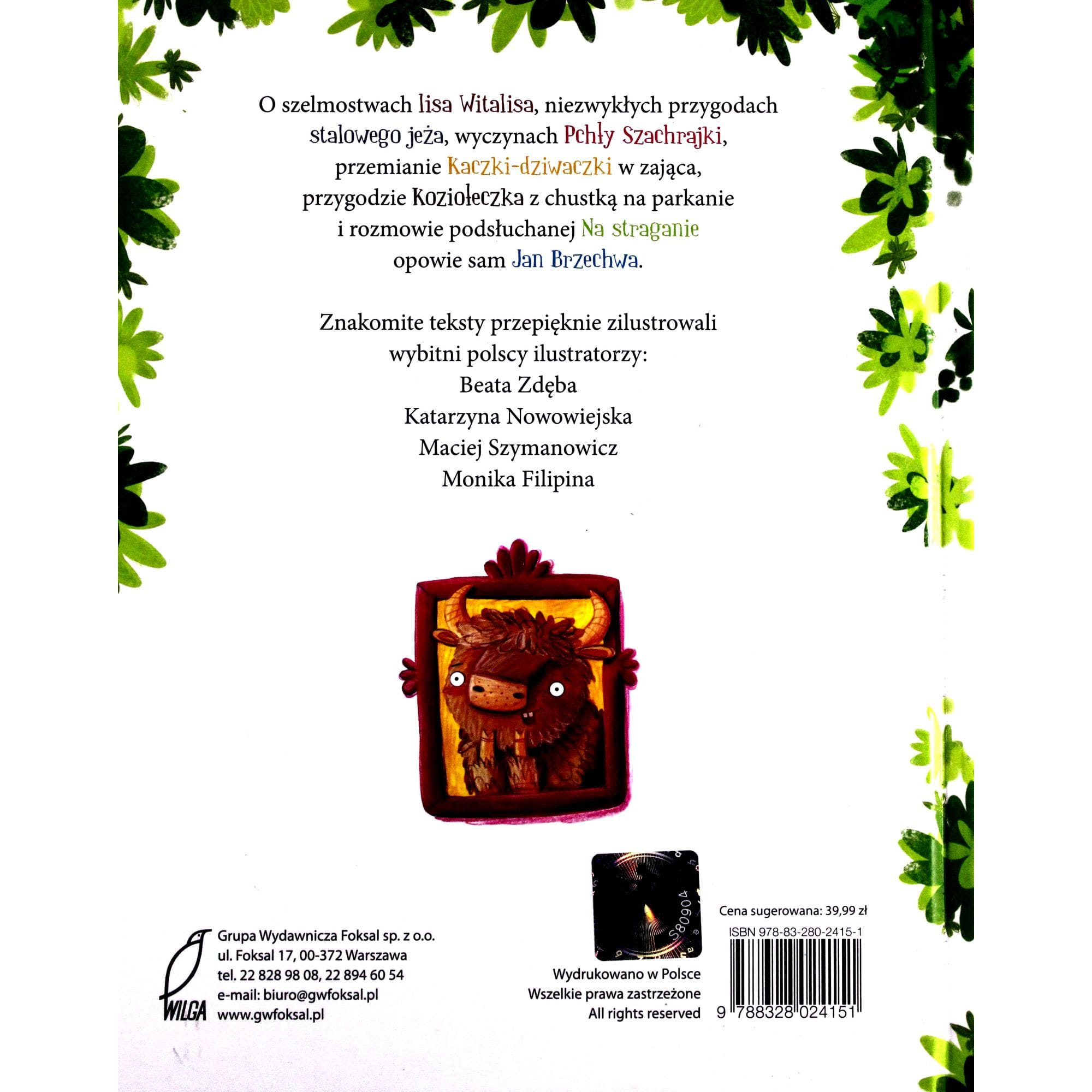 Wiersze I Bajki Jan Brzechwa